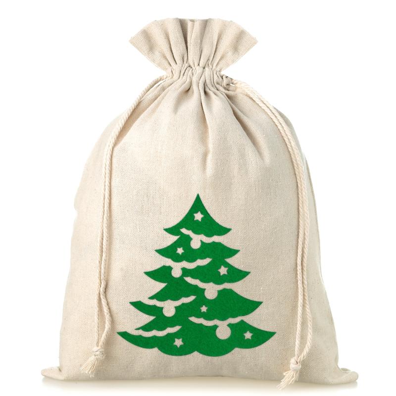 Wieso Tannenbaum Weihnachten.1 St Leinensäckchen 26 X 35 Cm Weihnachten Tannenbaum