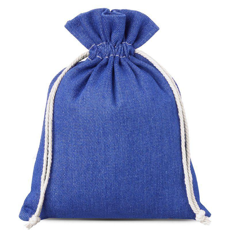 1 St. Jeans Beutel 15 x 20 cm - blau
