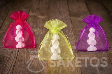 Verpackung von handgemachten Kerzen