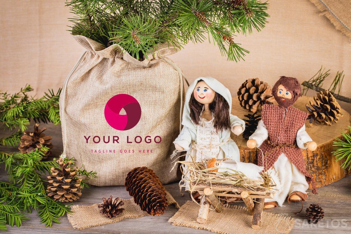 Eine Anregung für die Feiertage - Stoffbeutel als Geschenkverpackung