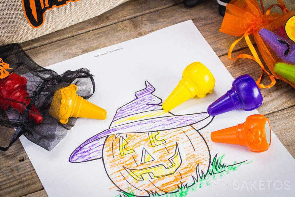 Säckchen für Halloween eignen sich auf zum Aufbewahren von sonstigem Kleinkram