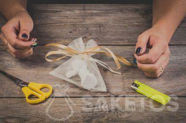 Jak zrobić kokardę ze wstążki