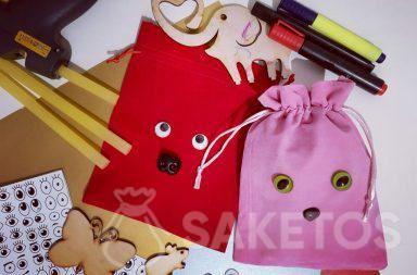 6. Dekorieren von Geschenkbeuteln - Personalisieren der selbstgemachten Verpackung