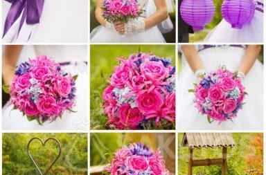 6. Collage zur einfachen Auswahl von Accessoires in der Leitfarbe
