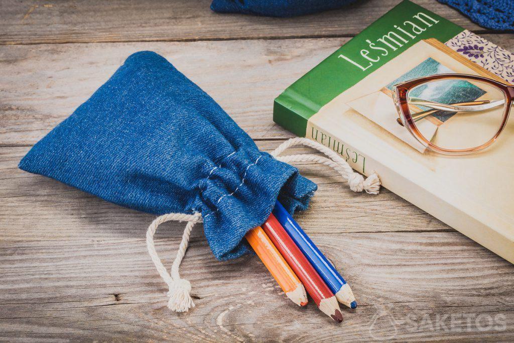 Jeanstaschen für Büro- und Künstlerbedarf