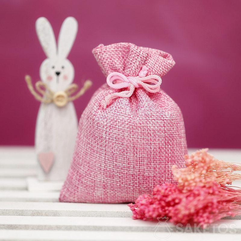 Materialtaschen zum Dekorieren von Ostern