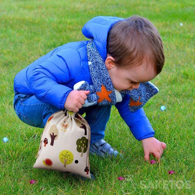 Osterspaß für Kinder - Eierjagd