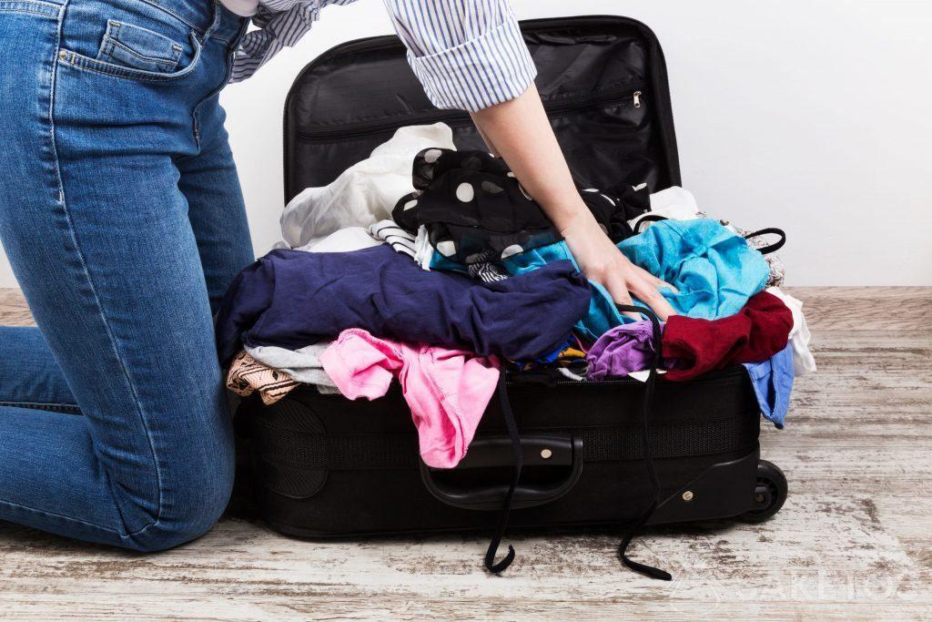 Organizer für Reisetaschen helfen Ihnen, diesen Anblick zu vermeiden!