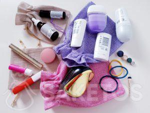 8.Beutel zum Aufbewahren von Kosmetikprodukten auf Reisen