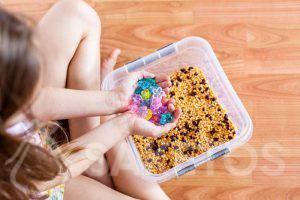4. Sensorische Spiele für Kinder