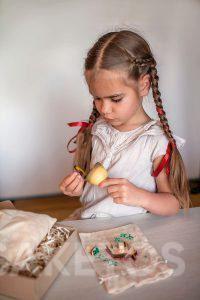 9. Dekorative Leinenbeutel - handgefertigtes Spielzeug für Kinder