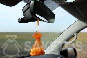 Kieselgelbeutel - erfrischender Duft fürs Auto