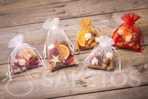 Eine Idee für ein Festtagsgeschenk - Organzabeutel mit Trockenduftmischung