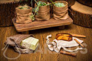 Öko-Säckchen für handgemachte Seife